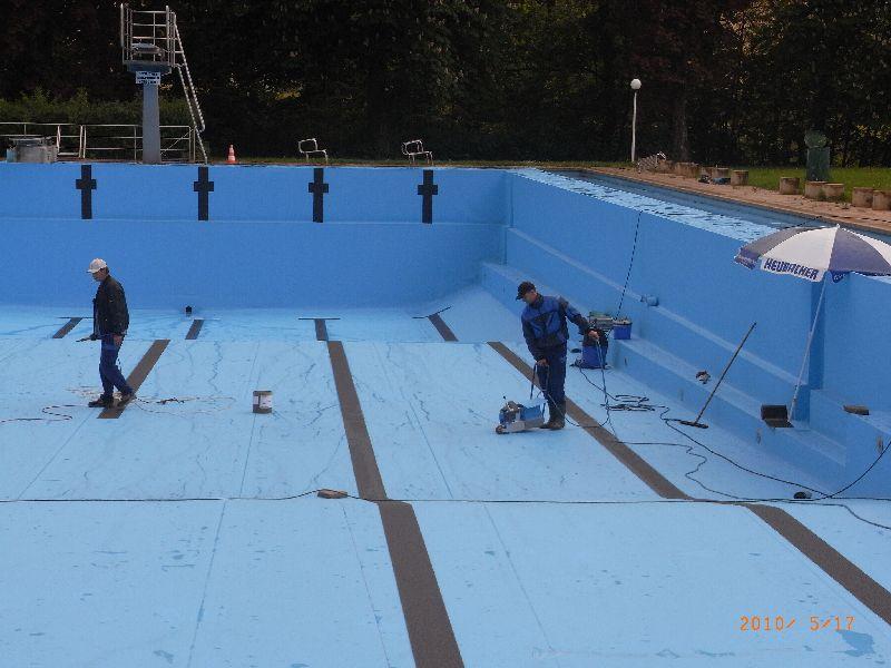 Schwimmbecken folienauskleidung schwimmbadtechnik - Innenpool bauen ...